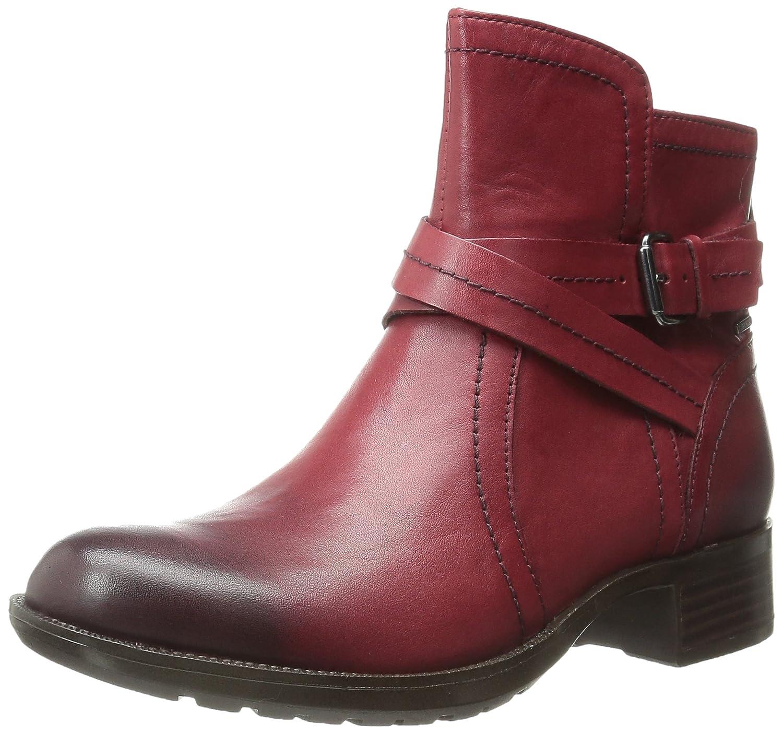 Cobb Hill Rockport Women's Caroline Waterproof Boot B00SK4DD1G 6.5 B(M) US|Red