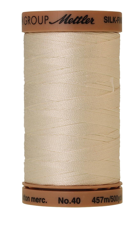 Mettler Silk-Finish Solid Cotton Thread Muslin 500 yd//475m