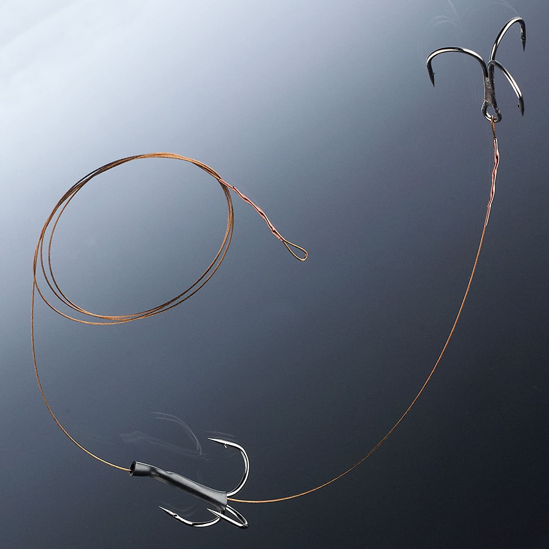 Balzer Matzes Posen Hecht Schaukel System 70cm 9kg Hechtmontage zum K/öderfischangeln mit Hechtpose Hechtvorfach Stahlvorfach