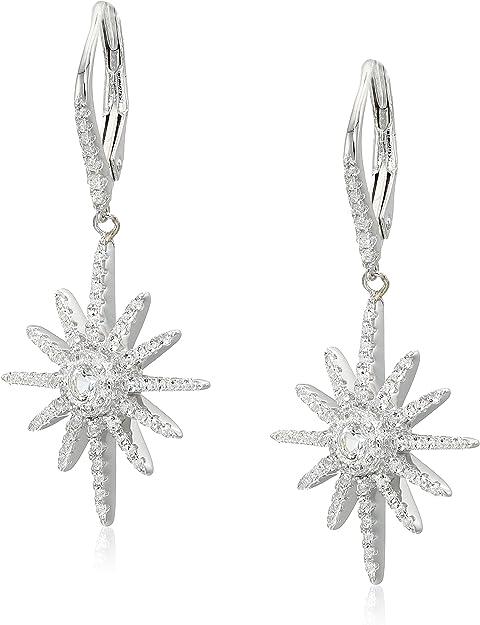 Box Chain White Sapphire Bracelet Sterling Silver White Crystal Bracelet For Women White Sapphire Flower Bracelet Gift For Her.