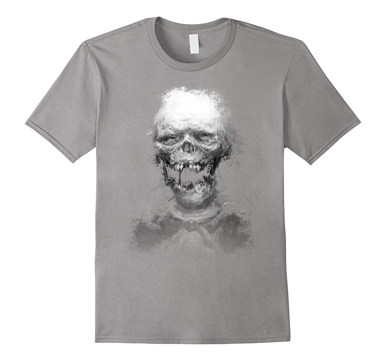 3D Skull Scary Halloween T shirt-CL