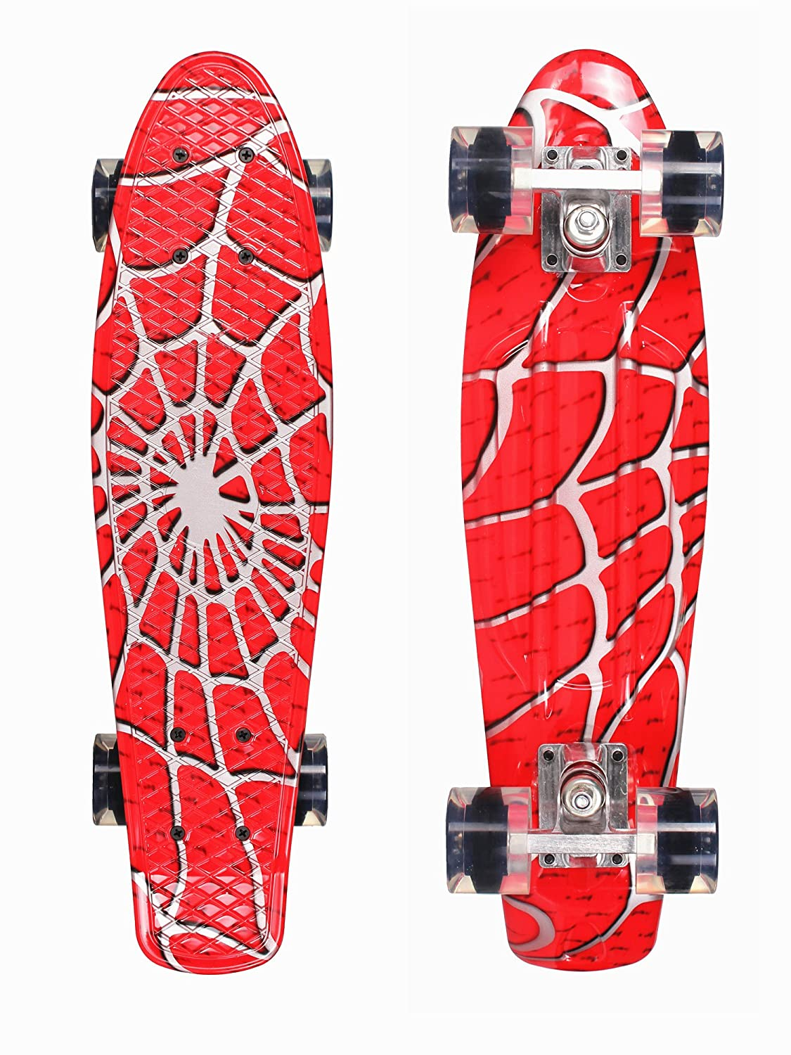 Xtreme Free Skateboards Penny Skateboard 22 inches for Beginners and Kids Mini Board Cruisher