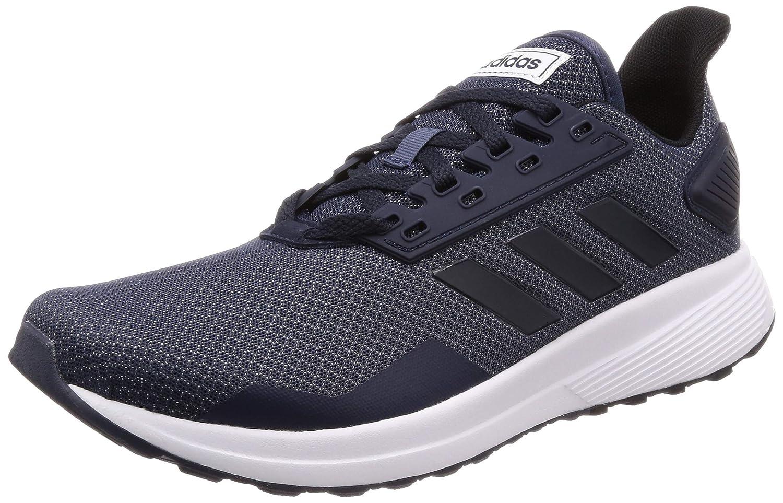 Adidas Herren Duramo 9 Fitnessschuhe Weiß Hellgrau, EU B07F12B3Z6 Hallen- & Fitnessschuhe Rutschfest