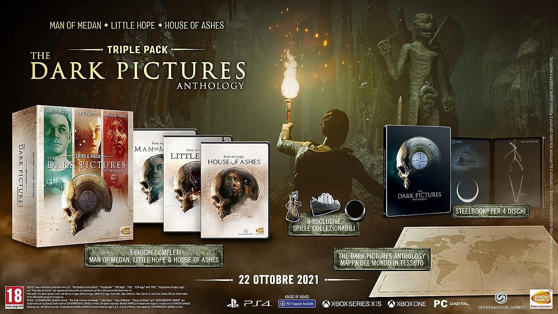 #Videojuego The Dark Pictures Anthology por 59,99€