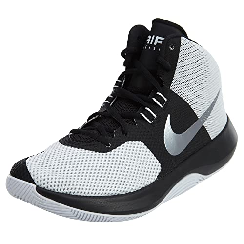 Nike Scarpe basket Uomo - Nike Air Precision - 898455-102 - WHITE-MTLC COOL  GREY-BLACK-46  Amazon.it  Sport e tempo libero f11f65cabf8