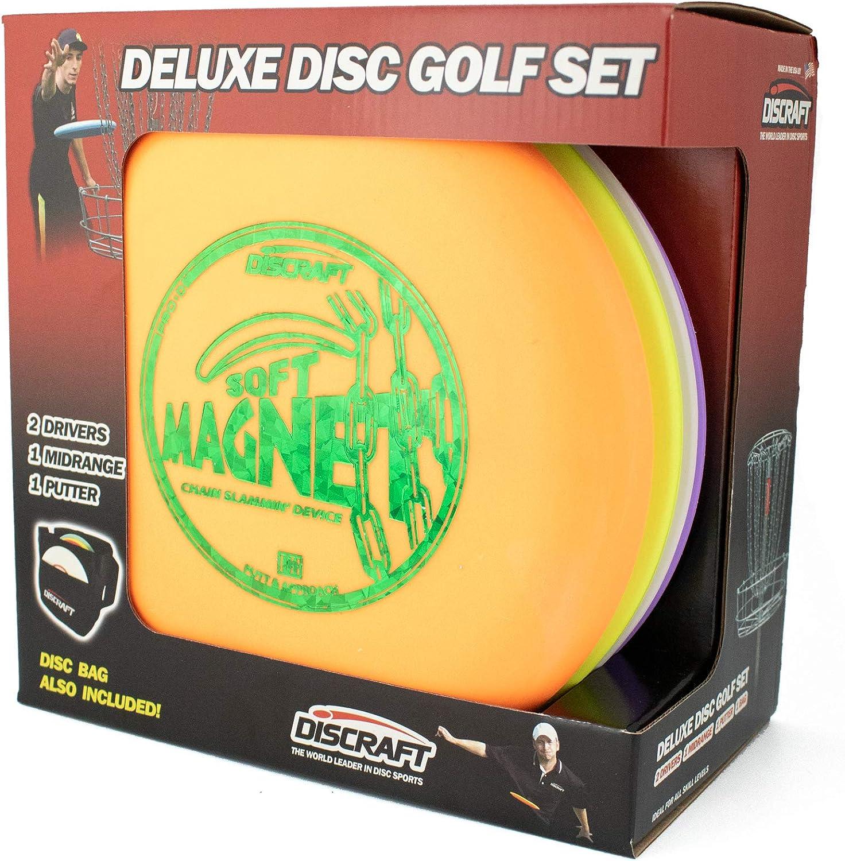 Discraft Deluxe Disc Golf Set