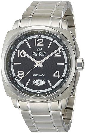 48be855d81 Amazon | [マーヴィン]MARVIN 腕時計 自動巻 M119.13.94.11 メンズ ...