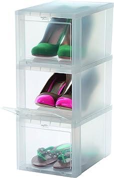IKEA Plastique Chaussure Boîtes de rangement-Crep Shoe Display