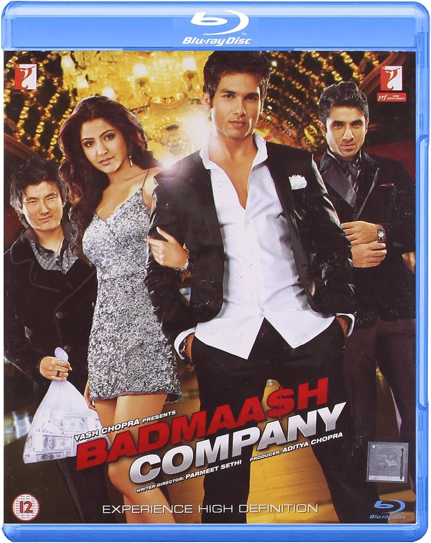 Badmaash Company 2010 Blu-ray Shahid Kapoor / Hindi Film ...
