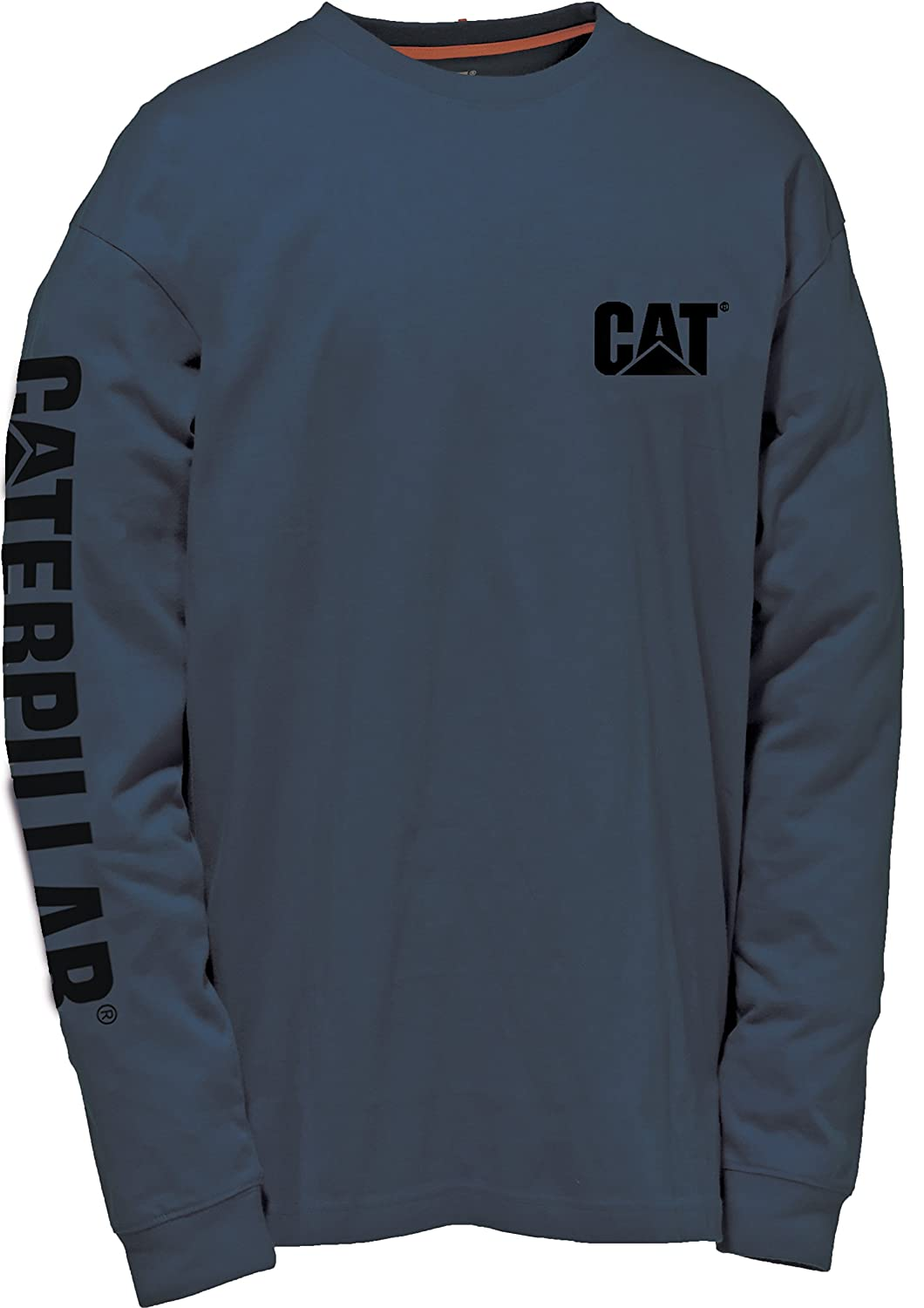 Caterpillar Trademark Banner Long Sleeve T-Shirt Lavoro Uomo