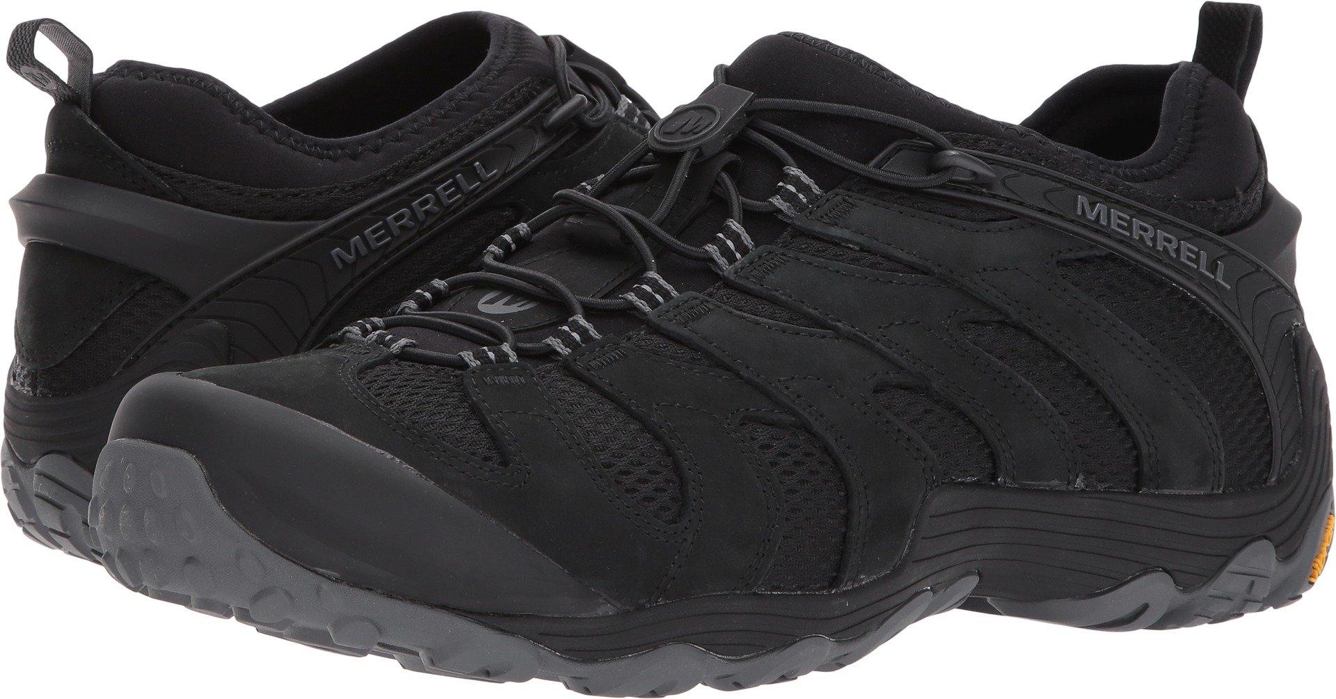 Merrell Men's Chameleon 7 Stretch Hiking Shoe, Black, 10.5 M US by Merrell