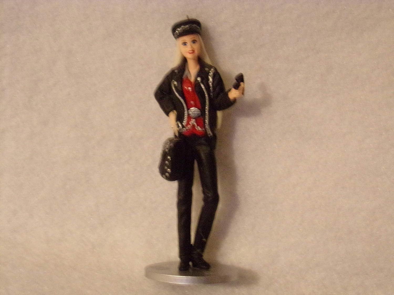 2000 Hallmark Keepsake Ornament Harley Davidson Barbie