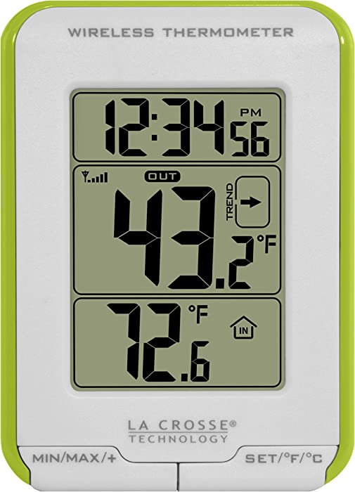 La Crosse Technology 308-1410GR Wireless Thermometer with Trend Indicator