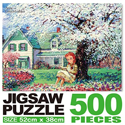Anne of Green Gables Jigsaw Puzzle 500P Blooming Flower: Toys & Games