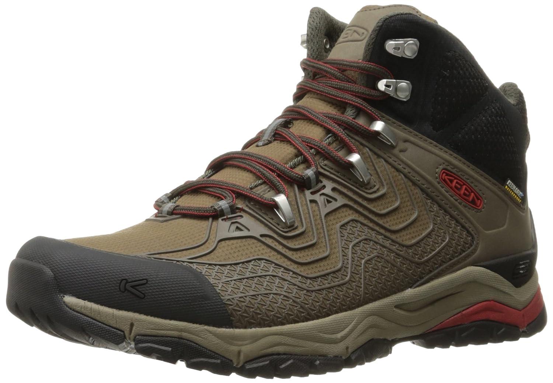 Black Olive  Bossa Nova KEEN Men's Aphlex Mid WP Hiking Boots