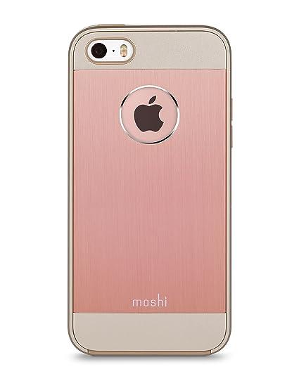 sports shoes acdd7 f39b7 Moshi iGlaze Armour Aluminum iPhone 5/5s/SE Case - Golden Rose