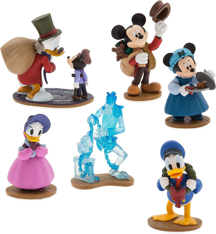 Mickey/'s Christmas Carol Figures PlaySet NEW