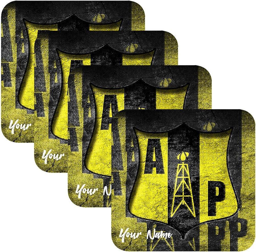 Azty Designs Custom Personalized Rubber Mouse Pad Ecuador Futbol Liga Soccer League