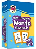 New High-Frequency Words Home Learning Flashcards for Ages 4-5