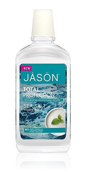 Amazon.com : Jason Total Protection Sea Salt Mouth Rinse, 16 Fluid ...
