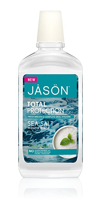 Jason Total Protection Sea Salt Mouth Rinse 16 oz