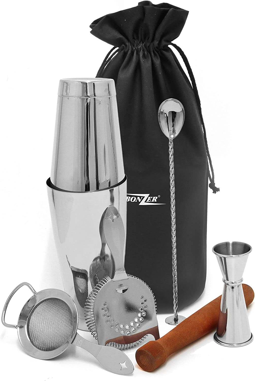 edelstahl Bonzer 12590-06 7 Peice Kit Cocktail-Set
