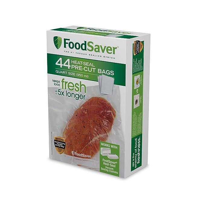 Amazon.com: Paquete de 18 bolsas FoodSaver de tamaño ...