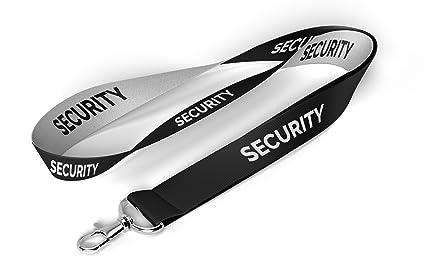 Seguridad Lanyard con titular de la tarjeta de ...