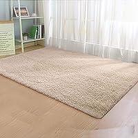 Artiss 140x200cm Floor Rugs Large Ultra Soft Shaggy Rug Carpet Mat Area Beige