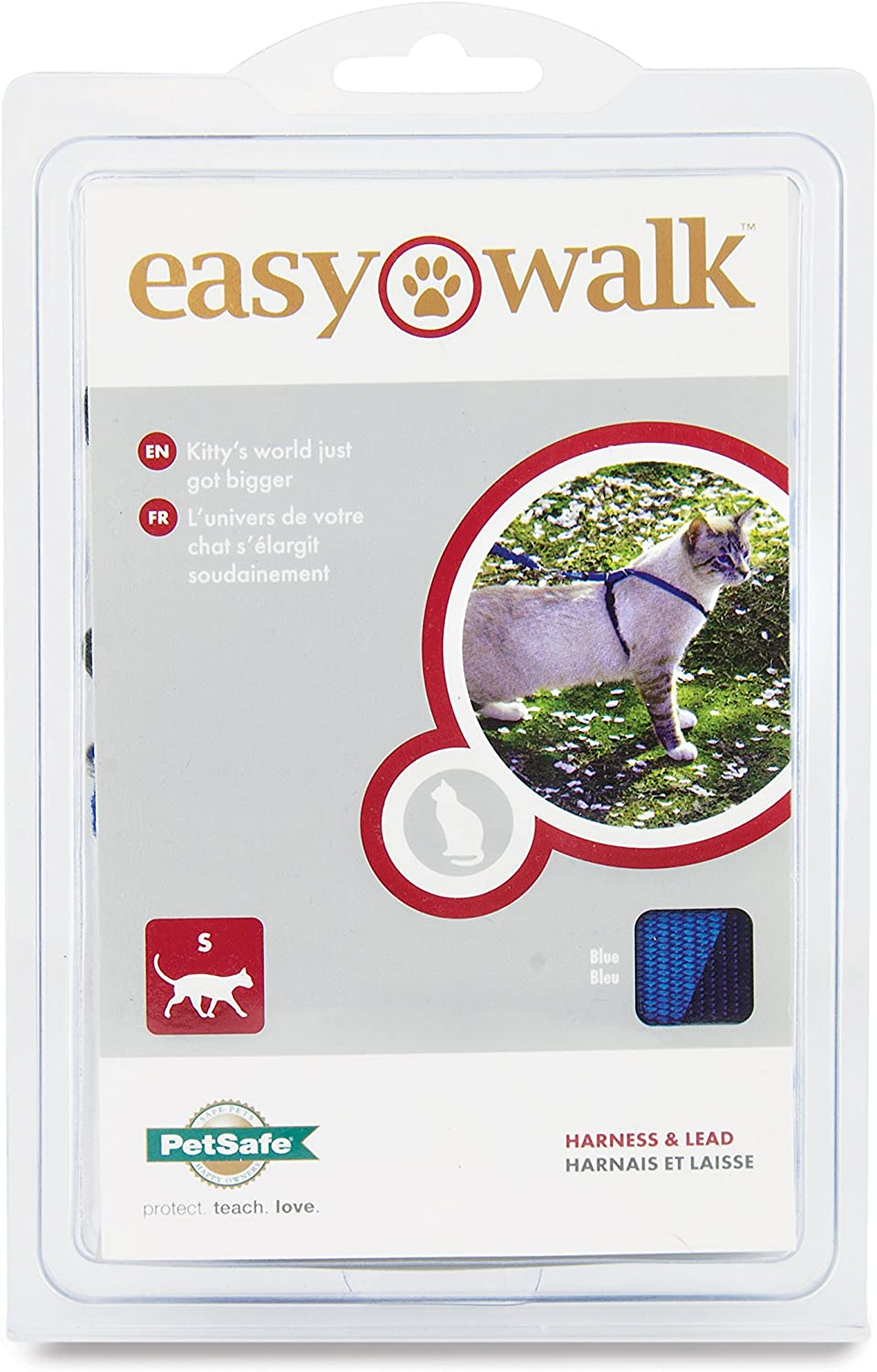 PetSafe Easy Walk Arnés para Gato y Plomo: Amazon.es: Productos ...