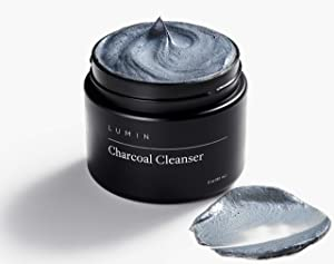 Men's No-Nonsense Charcoal Cleanser (2 oz.): Unclog Pores of Oil, Dirt, and Pollution - Experience a Smooth and Fresh Face - Korean Made Grooming for the Modern Man - Achieve Your Best Look with Lumin