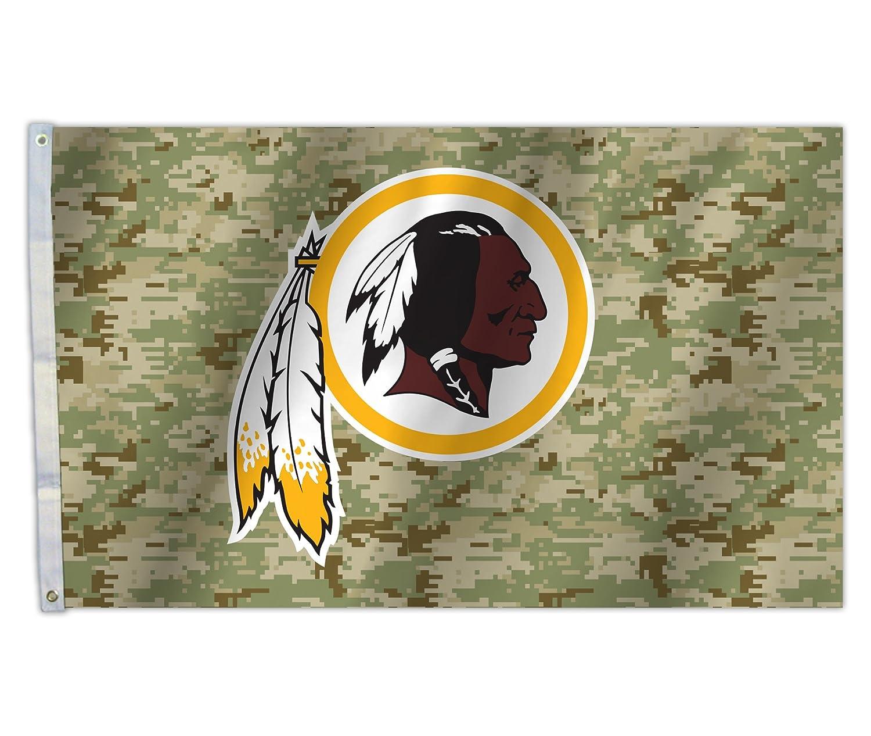 【期間限定!最安値挑戦】 NFL NFL X Camo Camo 3 X 5フラグ、グリーン、1サイズ ワシントンレッドスキンズ B074TVYDRR, GUOYA SELECT:becbc528 --- arianechie.dominiotemporario.com