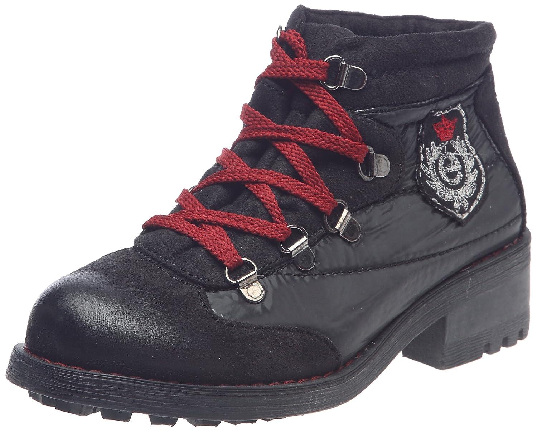 Elite Elite femme Leslie, Chaussures montantes femme 19971 Noir b3b161e - fast-weightloss-diet.space