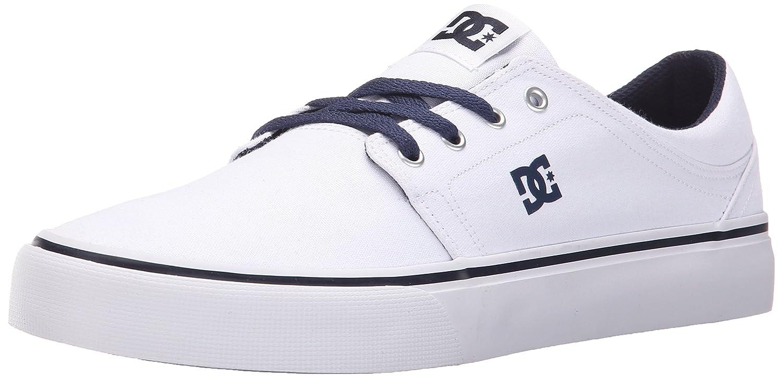 DC Men's Trase TX Unisex Skate Shoe B078Q38D27 10.5D D US|White/Navy