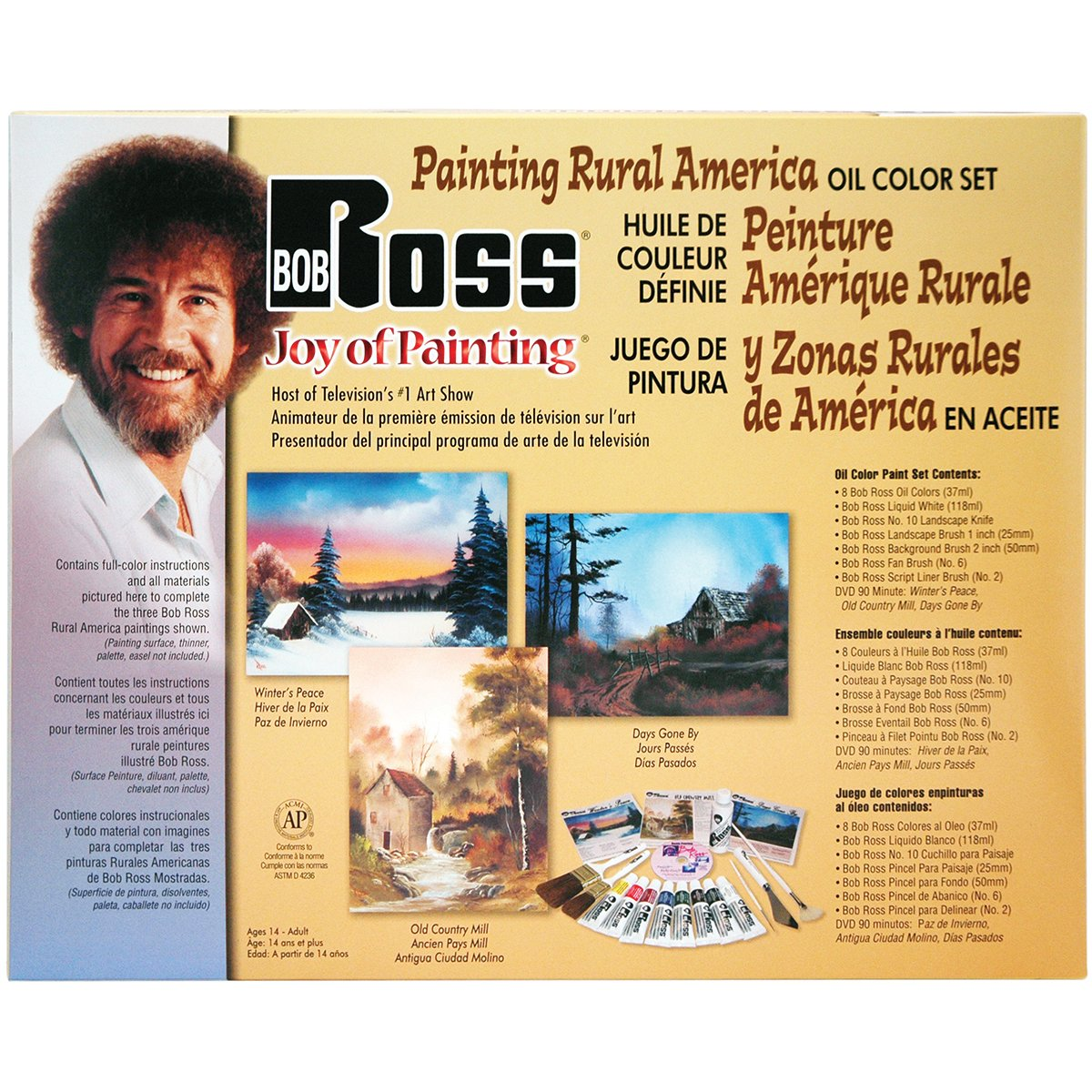 Weber Bob Ross Painting Rural America R6514