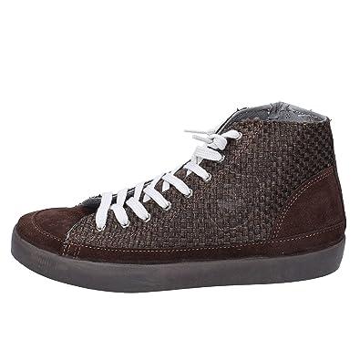 BEVERLY HILLS POLO CLUB Sneakers Hombre Gamuza marrón: Amazon.es ...
