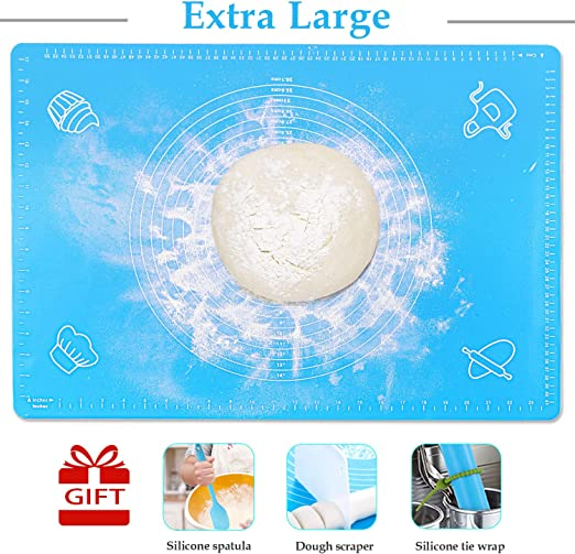 Sheet Blue FREE POSTAGE Extra Large Thick Silicone Baking Mat