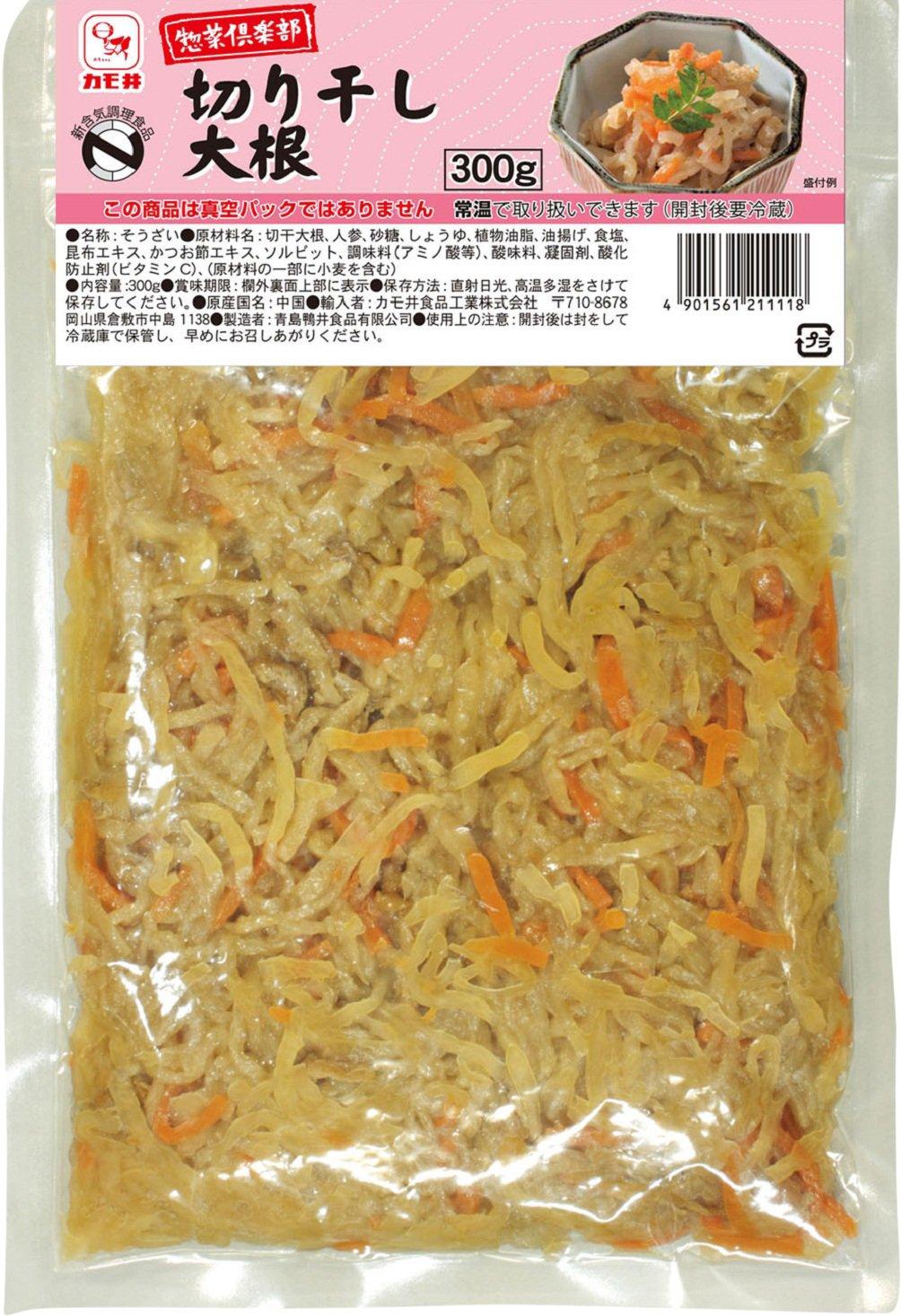 300gX10 bags duck well food delicatessen club dried daikon strips radish