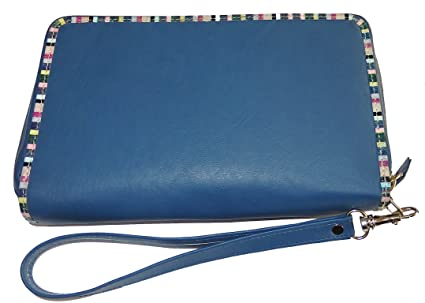 Rogner Lederwaren Women's MPC 1 Wallet, blue (blue) - MPC 1: Amazon