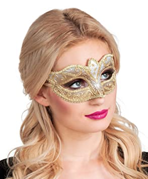 Venice Felina Gold Eye Mask