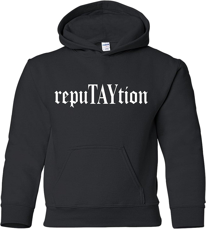 Freedomtees RepuTAYtion Unisex Youth Hooded Sweatshirt
