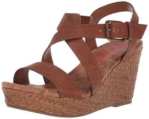40b9ffc094b35 Jellypop Womens Tahoe Wedge Sandal: Amazon.ca: Shoes & Handbags