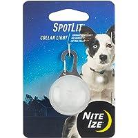 SpotLit LED Carabiner White LED/White Plastic