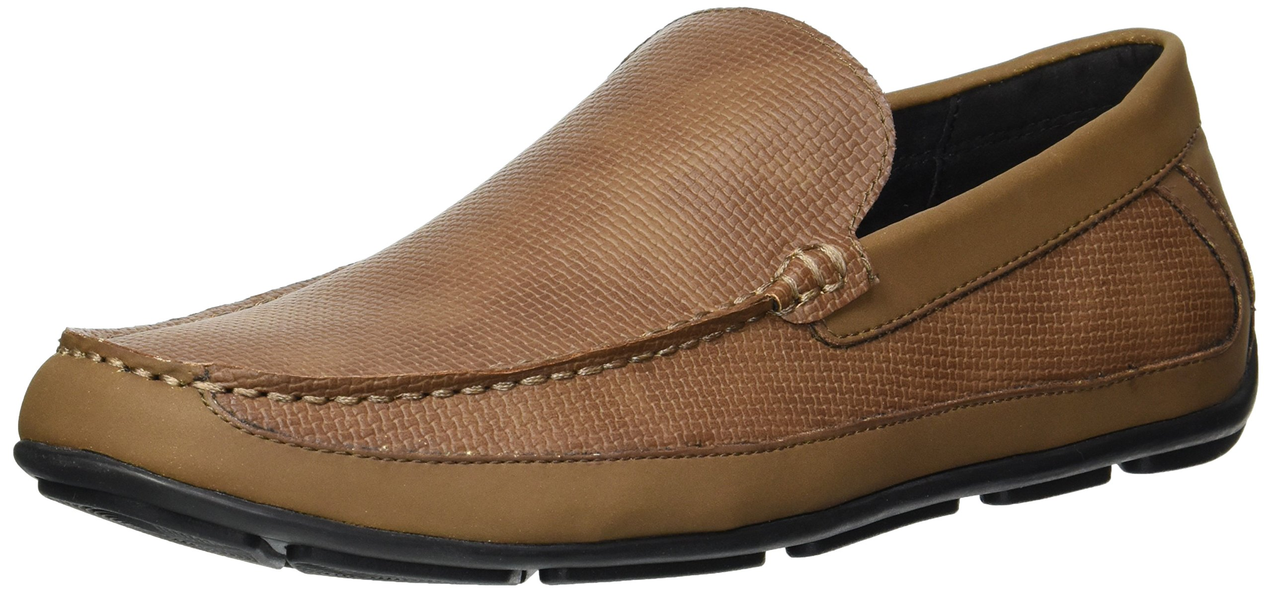 Unlisted by Kenneth Cole Men's Eckert Driver B Driving Style Loafer, Brown, 9.5 M US