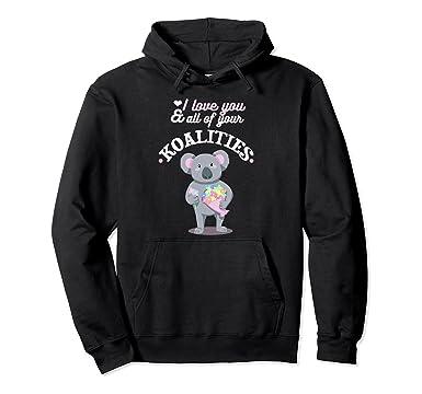 Amazon Com I Love You All Of Your Koalities Funny Koala Pun
