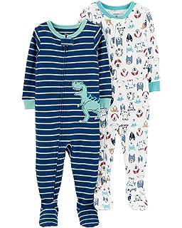 7ce780bac4b7 Amazon.com  Carter s Baby Boys  1 Piece Cotton Sleepwear  Clothing