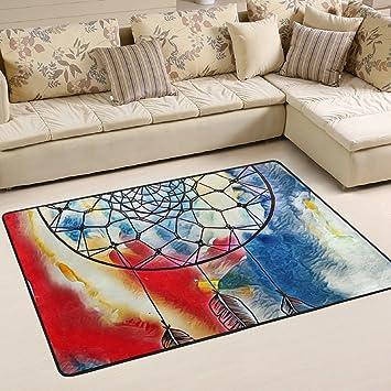 Woor Super Bequem Antirutsch Dreamcatcher Ink Abstract Bereich  Teppiche/Fußmatte/Bezug Teppiche Mit Kleine