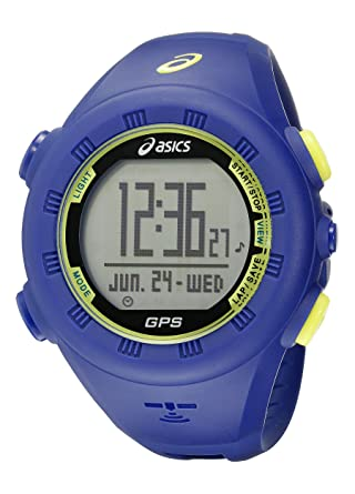 Asics Unisex CQAG0102 Blue GPS Running Watch