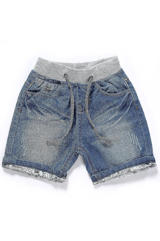 LITTLE GUEST Boys Regular Fit Denim Shorts B214