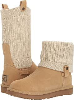 Amazoncom UGG Womens Classic Cardy Winter Boot KneeHigh - Free creative invoice template official ugg outlet online store